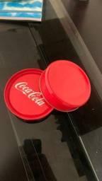 Lata coca cola porta copos