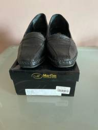 Sapato anatômico preto número 38