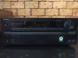 Receiver Onkyo TXNR636 A/V 7.2 Bluetooth TX-NR636 C/ DEFEITO