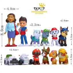 Título do anúncio: Patrulha canina salvadora kit de brinquedo Miniaturas