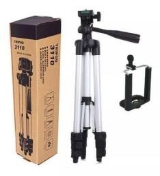 Tripé Universal Telescópico 1020mm Câmera E Celular Com Capa Wpp: *