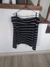 Título do anúncio: Blusa feminina nova da Zara (tamanho M)