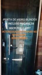 Título do anúncio: Porta Blindex
