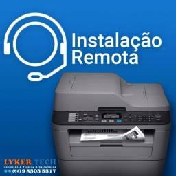 Título do anúncio: instalação remota de impressoras