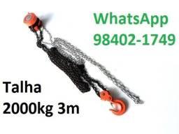 Talha manual 2000Kg 3 metros