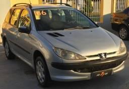 Peugeot 206 SW . Completo 2006