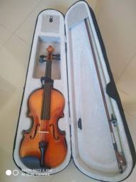 Título do anúncio: Violino 450,00 ( aceito troca por contrabaixo ou monitores de referência)