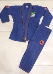 Kimono Dragão Azul e Rosa F1