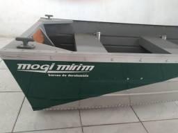 Vendo Barco de Alumínio + Motor + Reboque