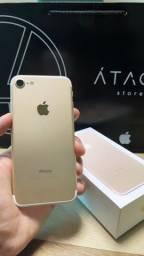 Título do anúncio: iPhone 7 32GB Gold impecável