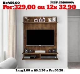 Painel de televisão até 49 Plg- Painel de Sala de Estar- Painel - Direto da Fabrica