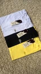 Camisas disponíveis do M ao GG