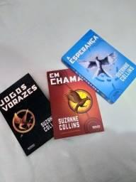 Livros Trilogia Jogos Vorazes!