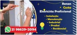 Eletricista Residencial - marido de aluguel