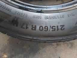 2 pneus 40% 215/60/17 Continental Conticrosscontact