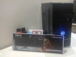 Computador 7º geração 3.30 GHz DDR4 + 8GB ram + SSD 120GB + mouse + teclado + caixa de som