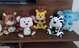 Bonecos tema safari - Tenha uma linda decoração
