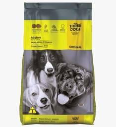 Vendo Raçao Three Dogs Raças Médias por 120,00