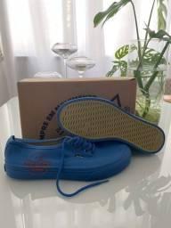 Tênis redley new wave stamp azul - tam 42