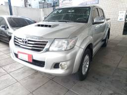 Toyota Hilux CD 4x4 STF C.D 2014/2014. Diesel, completa, revisada e bem conservada.