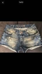 Shortinho jeans polo wear