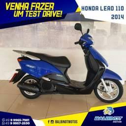 Honda lead 110 2014 Azul