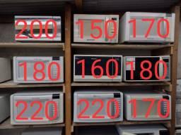 Título do anúncio: Microondas de 150,00 a 220,00