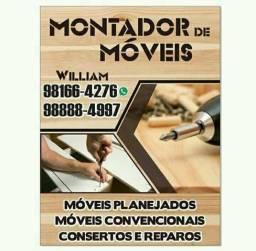 Montador de moveis disponível