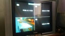Sistema de vigilância pra 4 câmeras.