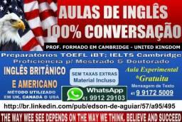 Curso Inglês de Férias|Básico ao Avançado *Material Grátis (2 Aulas Semana P/ Skype)