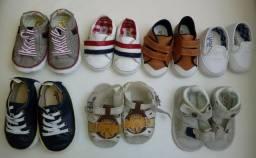 Sapatos bebe menino(numeracao 14 ao 18)