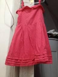 Vestiso rosa simples tam 8