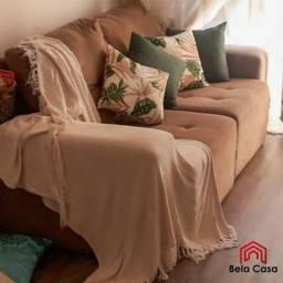 Mantas decorativas para sofá