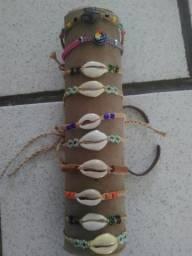 Usado, Pulseiras diversas.hippie, reggae, macramé comprar usado  Paulista