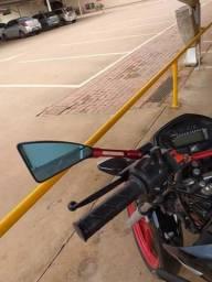 Troco retrovisor rizoma pelo da f800 - 2019