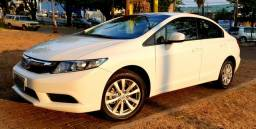 Aceito Troca Honda Civic LXS 1.8 Flex Automático Único Dono Baixo Km - 2016