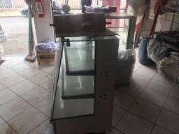Balcão de vidro p exposição