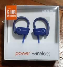 Fone Bluetooth com 5h de Autonomia