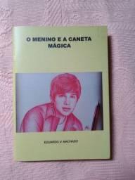 Livro o menino e a caneta mágica