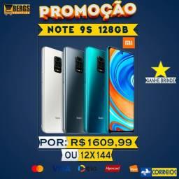 Note 9s 128GB/6RAM Branco Promoção - 12x144 - Com Garantia - Ganhe Brinde
