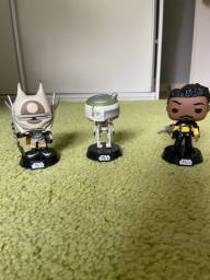Bonecos funko pop star wars originais