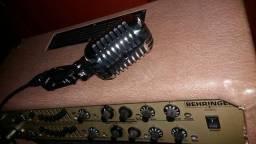 Amplificador beringher ACX 1800 para violao