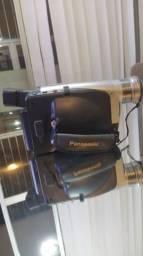 Câmera filmadora VHS vintage
