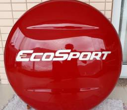 Tampa para estepe EcoSport vermelho