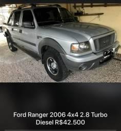 Ford Ranger 2006 2.8 4x4 completa ok - 2006