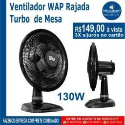 Ventilador WAP Rajada Turbo de Mesa 130W