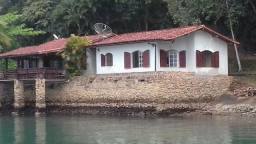 Island in Angra dos Reis. Documents and Licenses. Beach and Dock