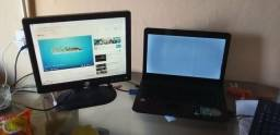 Notebook+Monitor