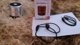 Mini speaker - caixinha de som bluethoo para celular