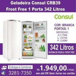 Geladeira Consul CRB39 Frost Free 1 Porta 342 Litros